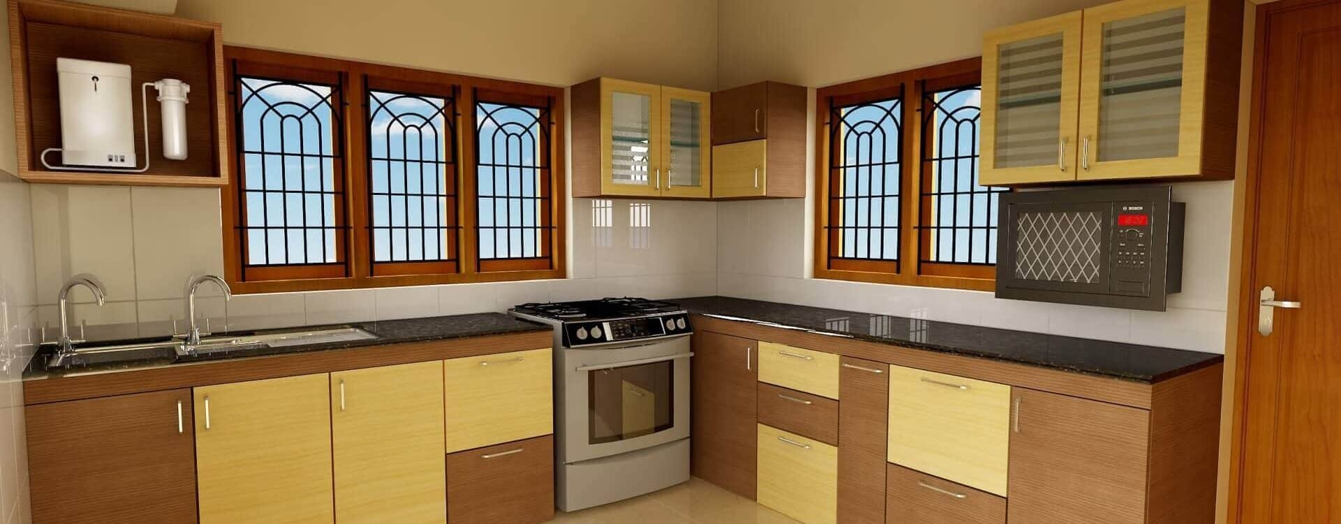 Proposed Kitchen Prospective ( 2016 )